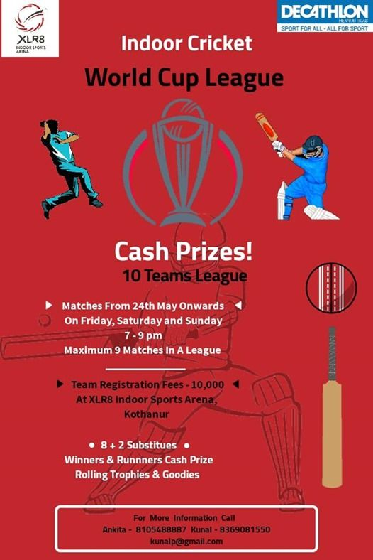Indoor Cricket World Cup League
