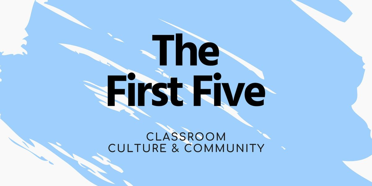 The First Five  3 sessions