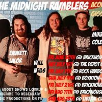 Midnight Ramblers Acoustic Show The Liberal Cup Sunday Aug 13th