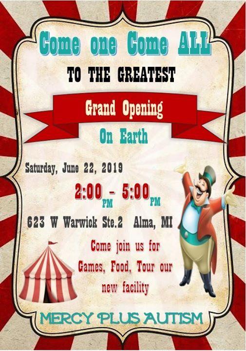 Alma Grand Opening