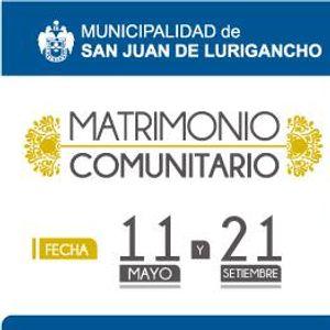 Matrimonio Civil Comunitario 2019