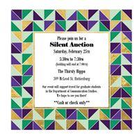 Communication Studies Silent Auction