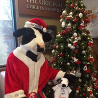 Breakfast with Santa Cow