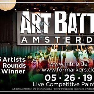 Art Battle Amsterdam - 26 May 2019