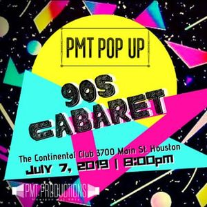 PMT Pop Up 90s Cabaret