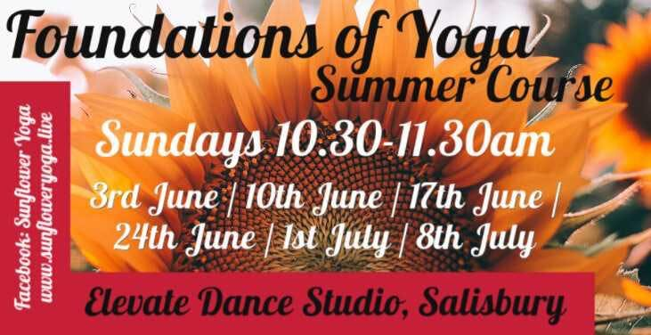 Foundations of Yoga (6 Week Course Summer 2018)