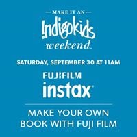 Indigo Kids Weekend Make Your Own Book With Fuji Film