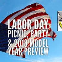 Labor Day Picnic Party &amp 2018 Model year preview