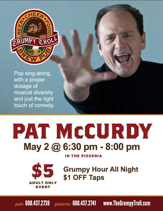 Pat McCurdy at The Grumpy Troll, Mount Horeb