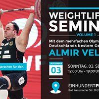Weightlifting Seminar mit Almir Velagic