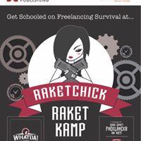RaketChicks Raket Kamp (Book Launch)