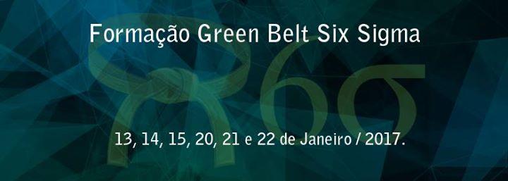 Formao Green Belt Six Sigma 40h