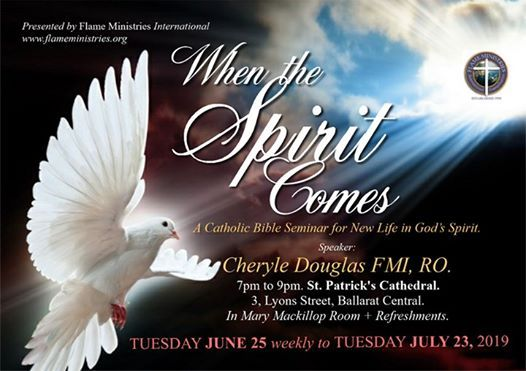 When the Spirit Comes A New Life in the Spirit Seminar.