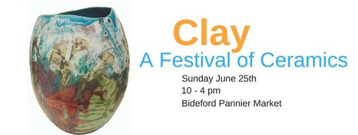 Clay A Festival of Ceramics