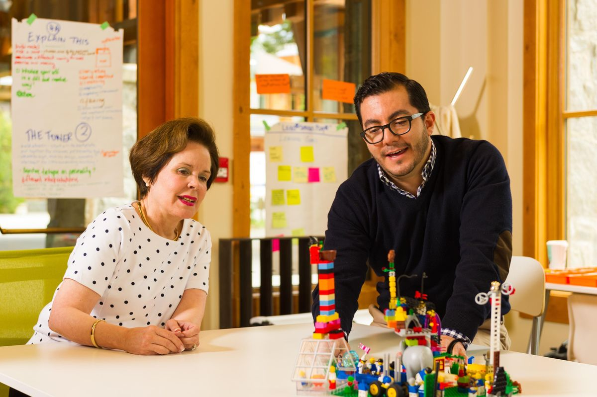LEGO SERIOUS PLAY methods Teams and Groups facilitator certification training