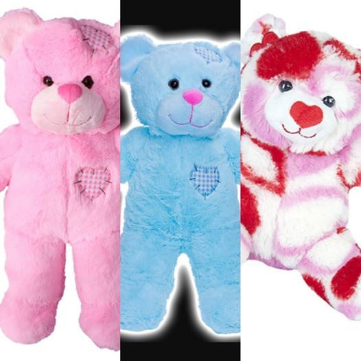 Create Your Own Patches Bear