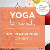 Yoga Brunch - Sporting Form &amp Studio Sattva