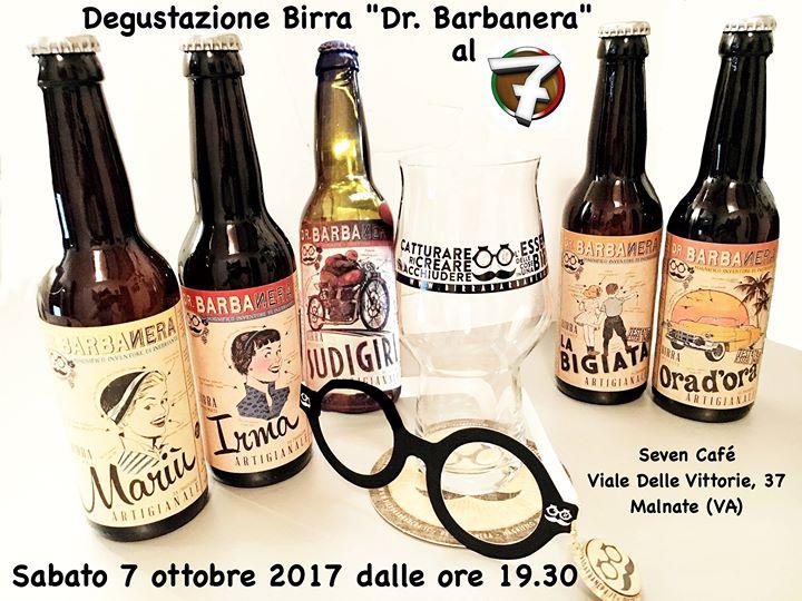 Serata degustazione birra Dr. Barbanera con gadgets in omaggio