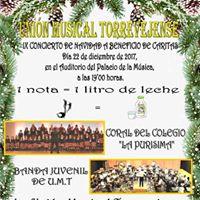 Concierto 1 Nota1 litro leche-Banda Juvenil UMT y C.C. Purisima