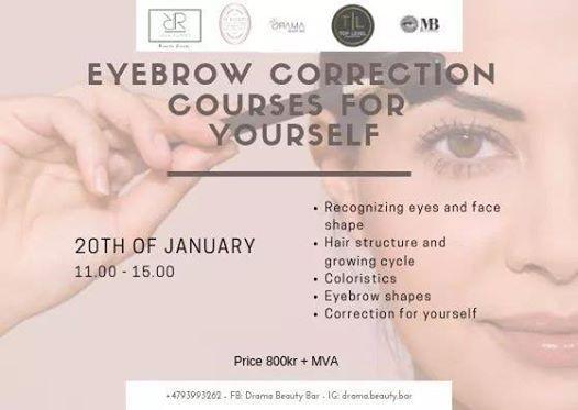 Eyebrows Self correction Course
