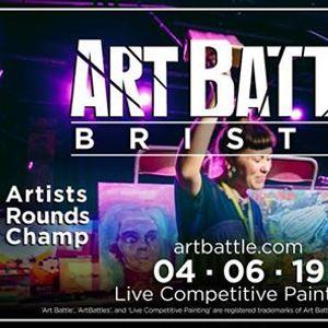 Art Battle Bristol - 4 June 2019