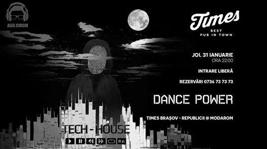 Dance Power w DJ Alex Ciociu Joi 31 Ianuarie