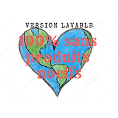 Version Lavable - zéro déchet