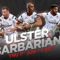 Ulster Rugby v Barbarians