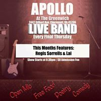 Apollo Open Mic at The Greenwich