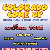 Colorado Come Up 6 - Free All Ages Hip Hop Monthly