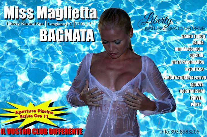Miss Maglietta Bagnata at Liberty Natural Spa, Longiano