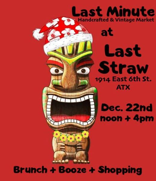 Last Minute Holiday Market at Last Straw