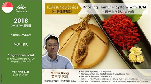 Boosting Immune System with TCM at 9 King Albert Park #01-20
