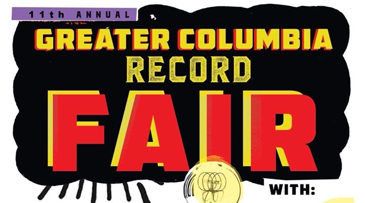 11th Annual Greater Columbia Record Fair