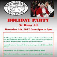 Chesapeake Beach Civic League Holiday Party