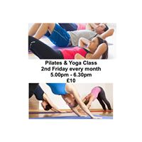 Pilates &amp Yoga (Monthly Class with Pat)