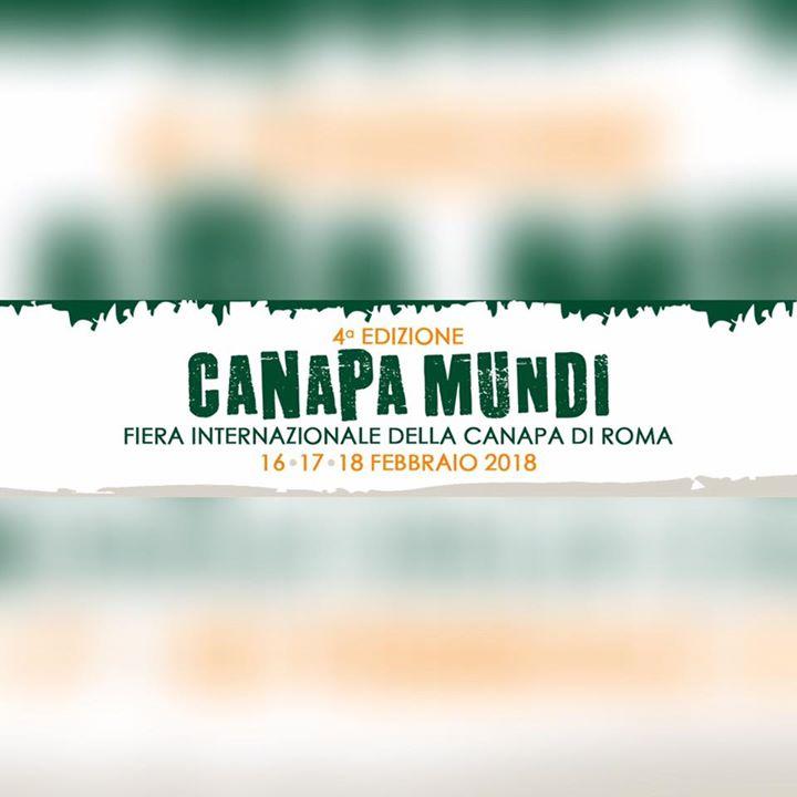 Canapa Mundi 2018 (evento ufficiale)