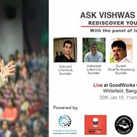 Rediscover yourself with Panel of leadersmentors
