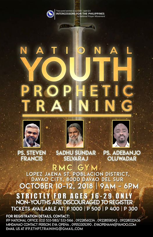 National Youth Prophetic Training