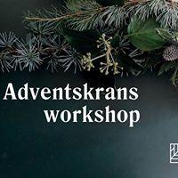 Adventskrans workshop hos Plant Kbenhavn