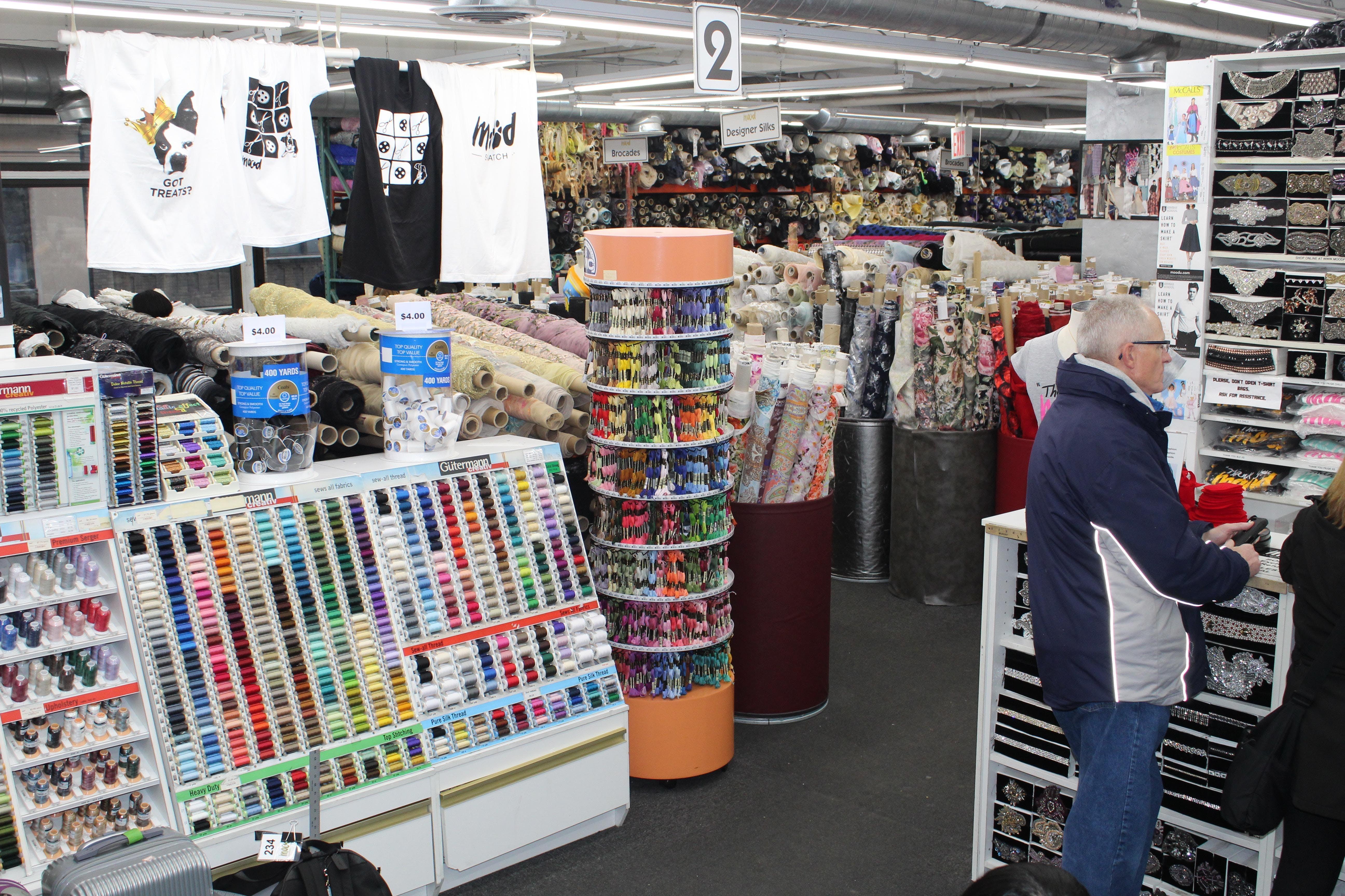 Mood Fabrics - WEAR 2018 at 225 West 37th Street, New York