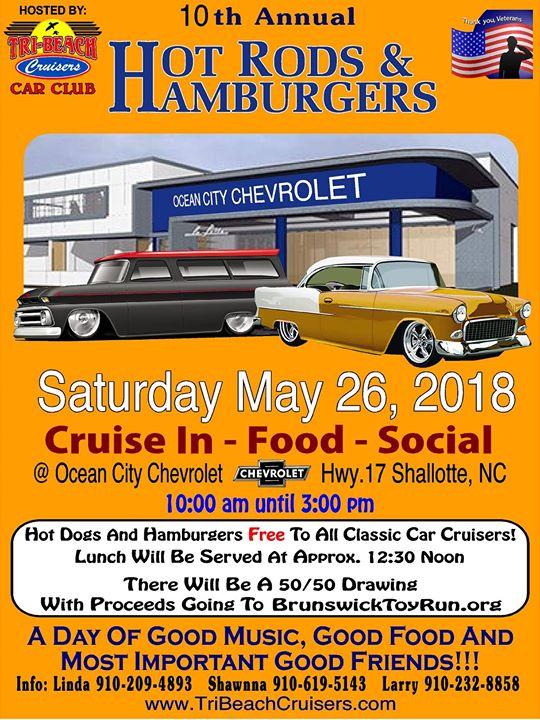 Ocean City Chevrolet >> Hot Rod Hamburgers At Ocean City Chevrolet Shallotte