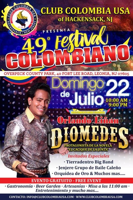 49th Festival Colombiano at Overpeck County Park-Ridgefield