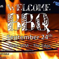Freshers Welcome BBQ