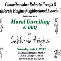 Mural Unveiling &amp Community BBQ