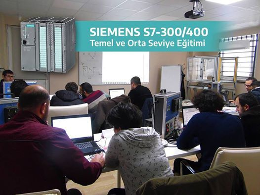 Siemens S7-300400 Temel ve Orta Seviye Eitimi