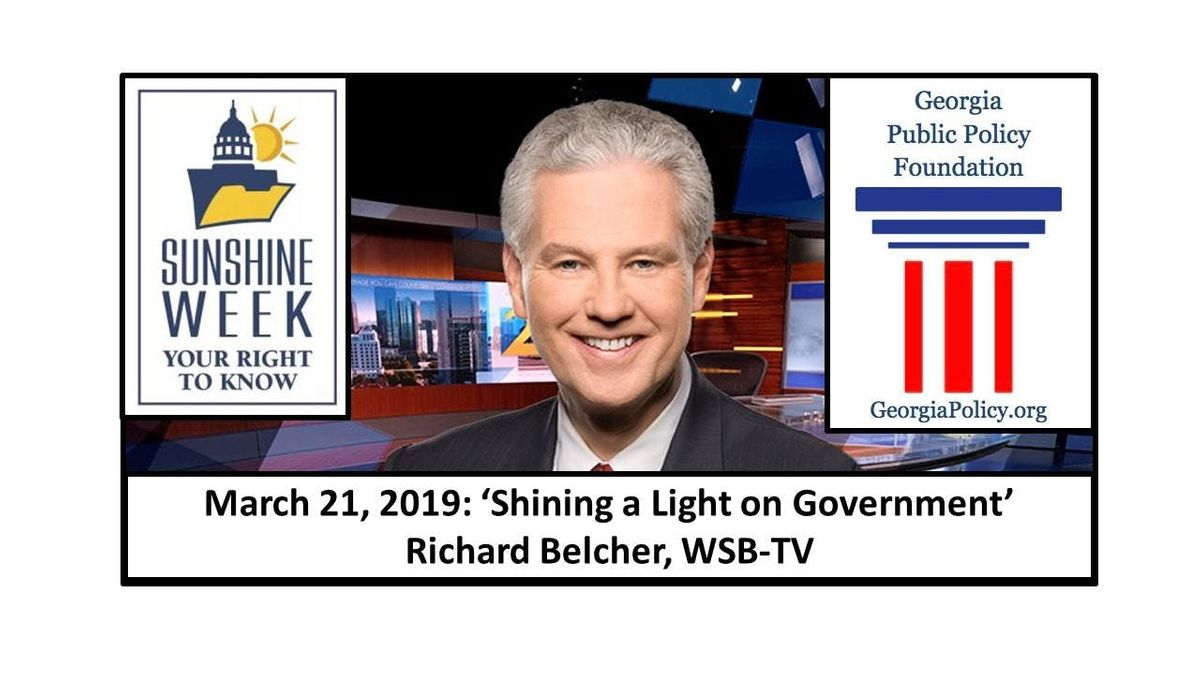 Shining a Light on Government Leadership Breakfast with Richard Belcher