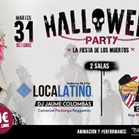 Halloween Party 21 en Riu Palace