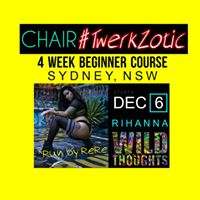 Sydney Beginner Chair TWERKZotic Course