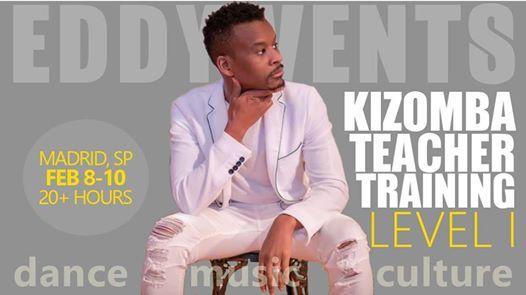 Kizomba Teacher Training (Level I) with Eddy Vents